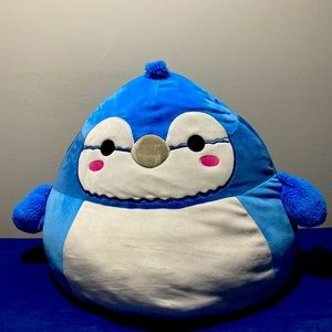 Squishmallows Babs the Blue Jay Bird